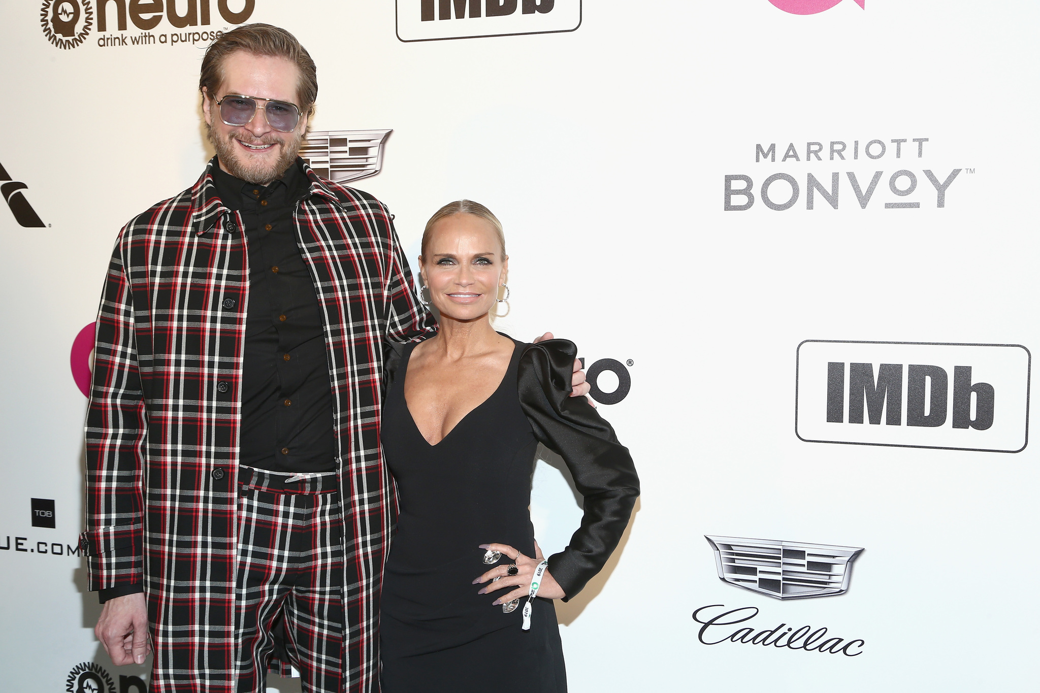 Kristin Chenoweth and Bryan Fuller at an event for IMDb at the Oscars (2017)