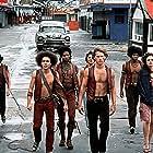 Michael Beck, David Harris, Tom McKitterick, Terry Michos, Marcelino Sánchez, Brian Tyler, and Deborah Van Valkenburgh in The Warriors (1979)