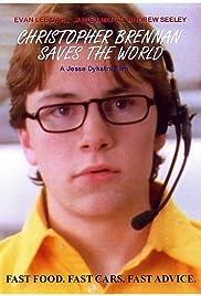 Christopher Brennan Saves the World Poster