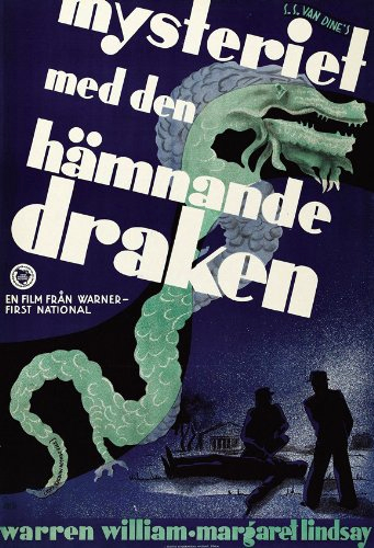 The Dragon Murder Case (1934)