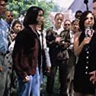 Neve Campbell, Liev Schreiber, Courteney Cox, and Jerry O'Connell in Scream 2 (1997)