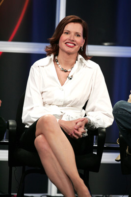 Geena Davis at an event for Commander in Chief (2005)