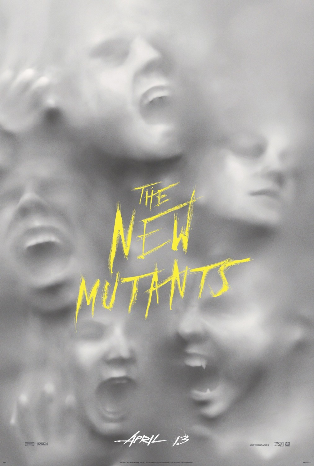 Image result for The New Mutants poster