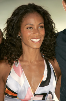 Jada Pinkett Smith at an event for Collateral (2004)