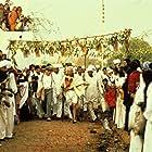 Martin Sheen and Ben Kingsley in Gandhi (1982)