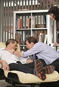 Robert Sean Leonard, Lisa Edelstein, and Hugh Laurie in House M.D. (2004)
