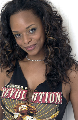 N'Bushe Wright at an event for Civil Brand (2002)