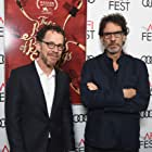 Ethan Coen and Joel Coen at an event for The Ballad of Buster Scruggs (2018)