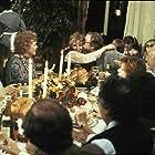 Michael Caine, Mia Farrow, Barbara Hershey, Maureen O'Sullivan, Dianne Wiest, and Lloyd Nolan in Hannah and Her Sisters (1986)
