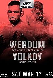 UFC Fight Night: Werdum vs. Volkov Poster