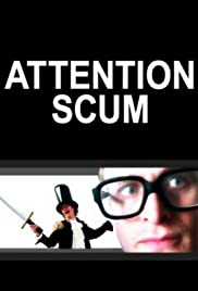 Attention Scum Poster