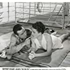 Humphrey Bogart and Mary Astor in Across the Pacific (1942)
