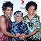 with Angela Bassett and Ms. Ruby Dee at New York Screening of Betty and Coretta