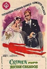 Crimen para recién casados Poster