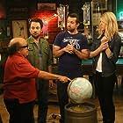 Danny DeVito, Charlie Day, Rob McElhenney, Kaitlin Olson, Glenn Howerton, and Andy Buckley in It's Always Sunny in Philadelphia (2005)