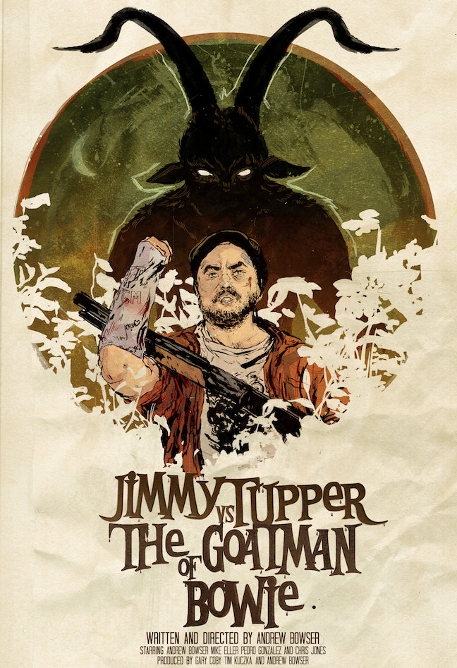 Jimmy Tupper vs. the Goatman of Bowie on FREECABLE TV