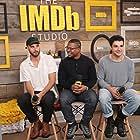 Sebastián Silva, Christopher Abbott, and Jason Mitchell at an event for Tyrel (2018)