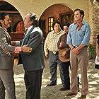 Pedro Armendáriz Jr., Will Ferrell, Diego Luna, Adrian Martinez, and Efren Ramirez in Casa de mi Padre (2012)