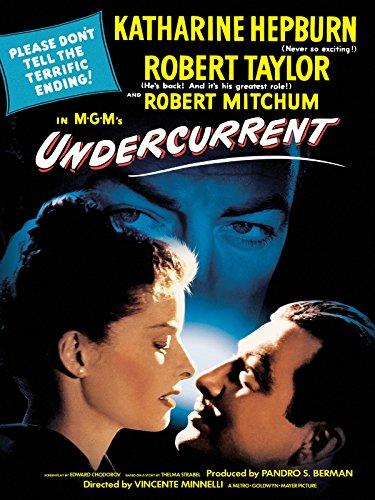 Katharine Hepburn, Robert Mitchum, and Robert Taylor in Undercurrent (1946)