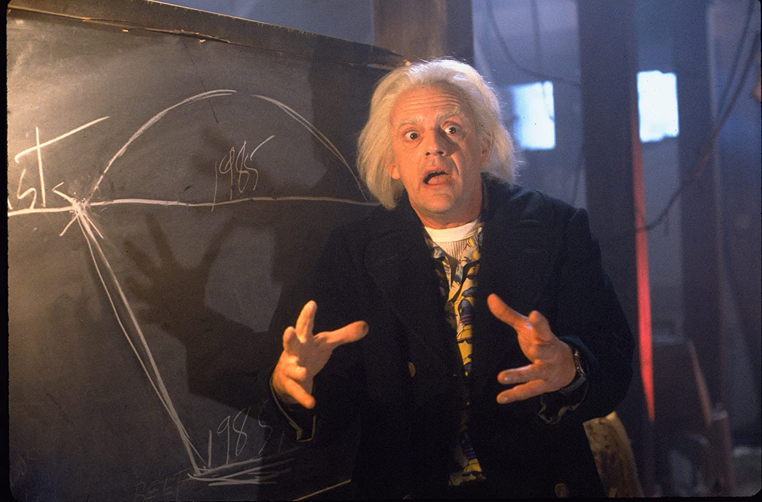 Christopher Lloyd in Back to the Future Part II (1989)
