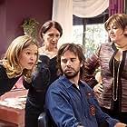 Camryn Manheim, Julia Stiles, David Walton, and Maureen Keiller in The Makeover (2013)