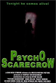 Psycho Scarecrow Poster