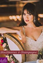 Blackberries and Champagne Wedding Inspiration