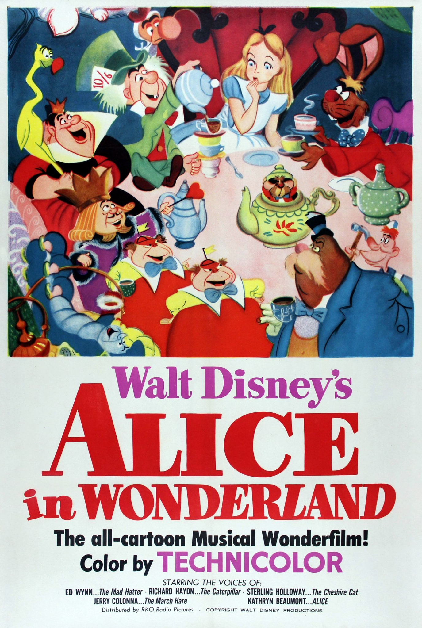 Alice in Wonderland (1951) - I...