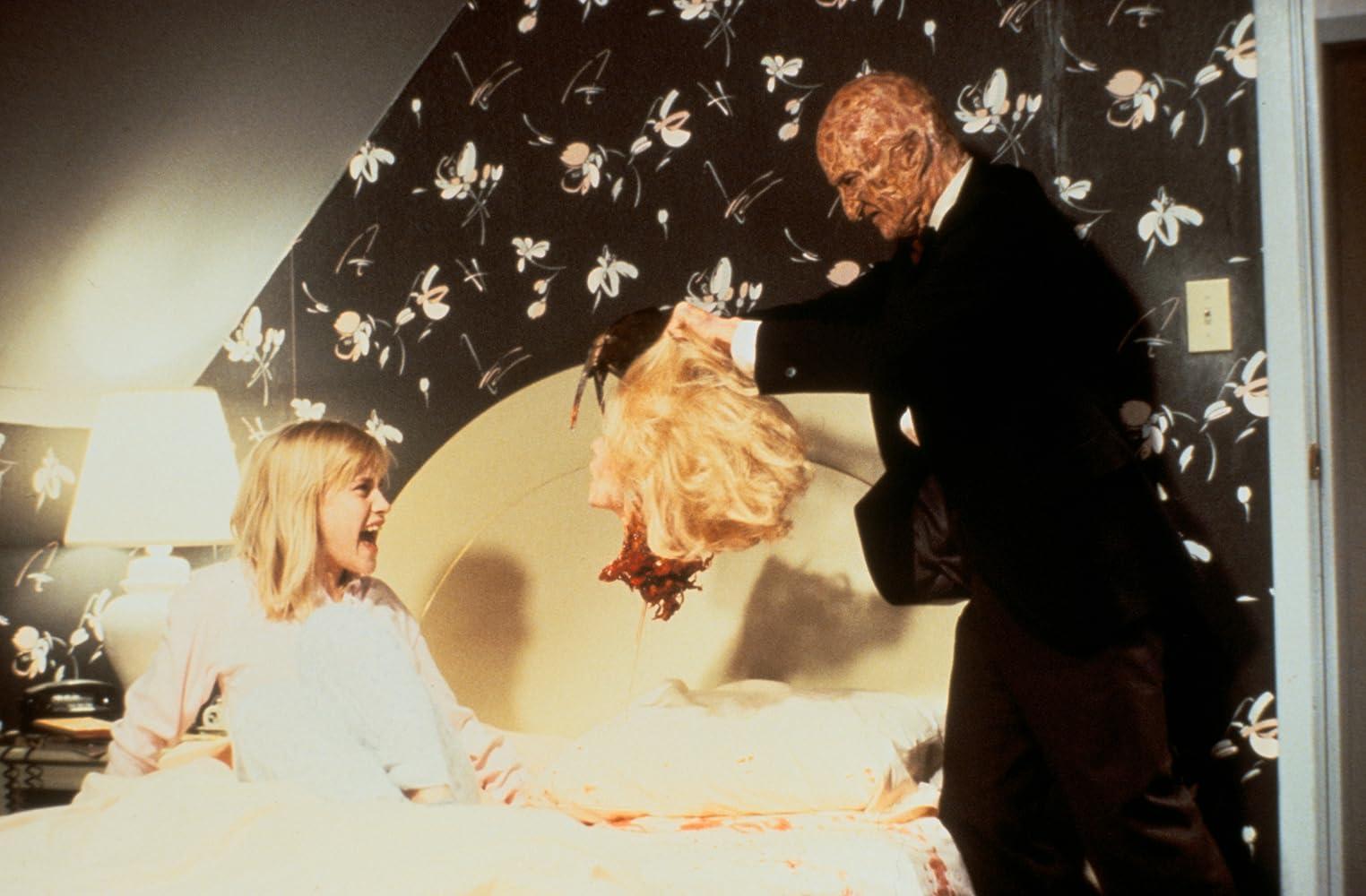Патриция Аркетт и Роберт Энглунд в Кошмаре на улице Вязов 3: Воины мечты (1987)