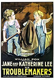 Jane Lee and Katherine Lee in Trouble Makers (1917)