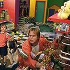 David Arquette and Angus T. Jones in See Spot Run (2001)