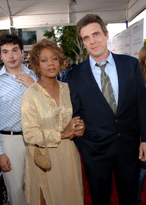 Alfre Woodard and Roderick M. Spencer at an event for Star Wars: Episode III - Revenge of the Sith (2005)