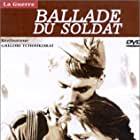 Vladimir Ivashov and Zhanna Prokhorenko in Ballada o soldate (1959)