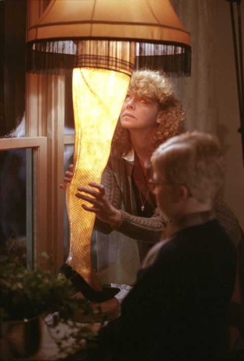 Peter Billingsley and Melinda Dillon in A Christmas Story (1983)