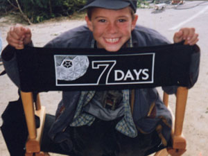 On the set of Seven Days