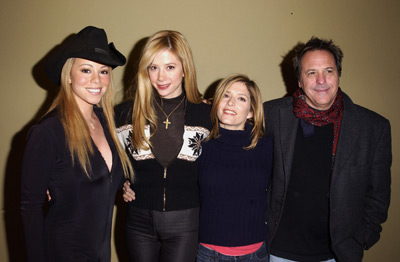 Mira Sorvino, David Anspaugh, Mariah Carey, and Melora Walters at an event for WiseGirls (2002)