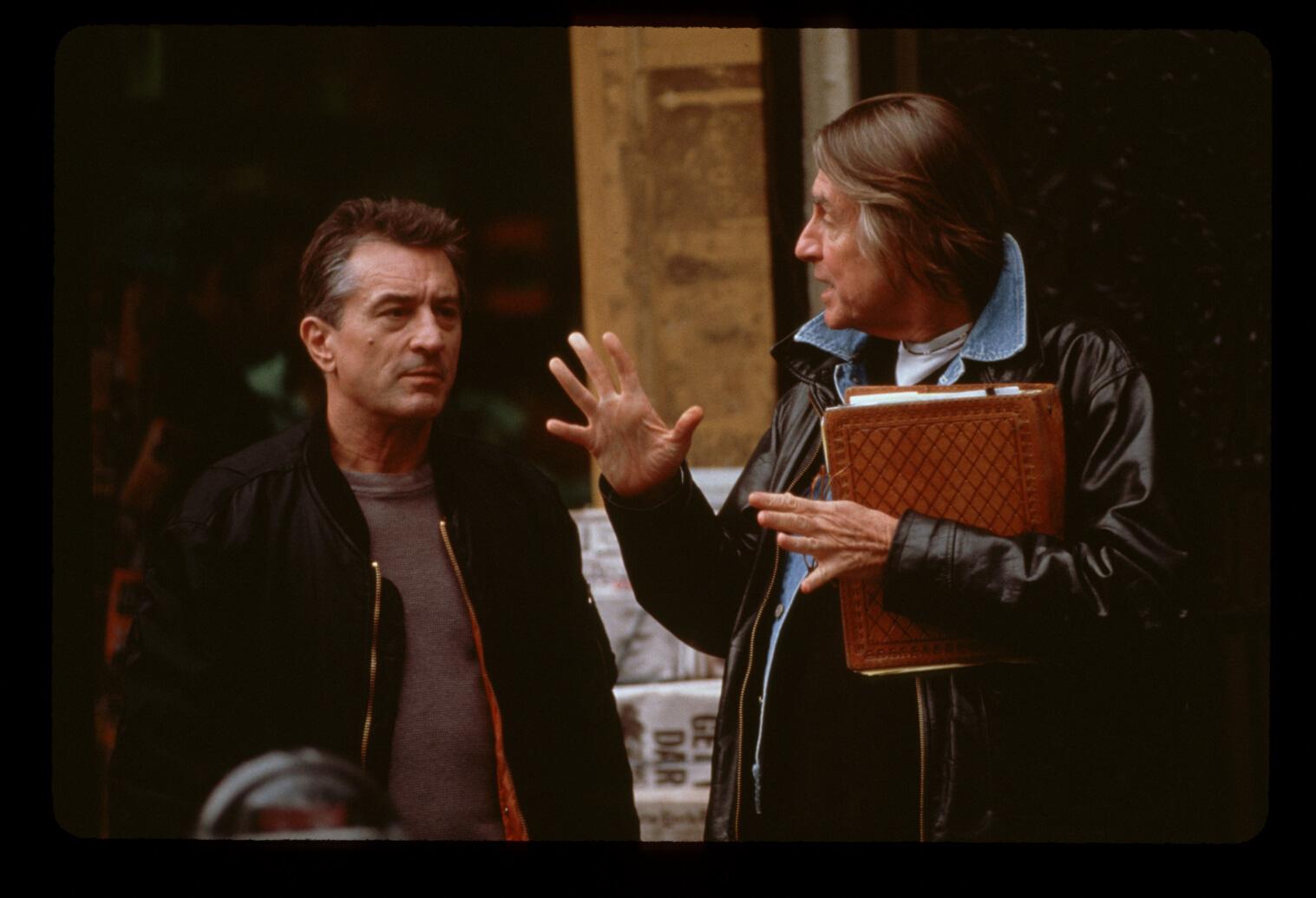 Robert De Niro and Joel Schumacher in Flawless (1999)