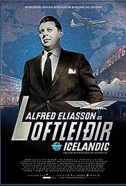 Alfred Eliasson & Loftleidir Icelandic Poster