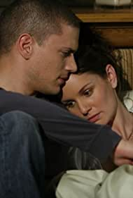 Wentworth Miller and Sarah Wayne Callies in Prison Break (2005)