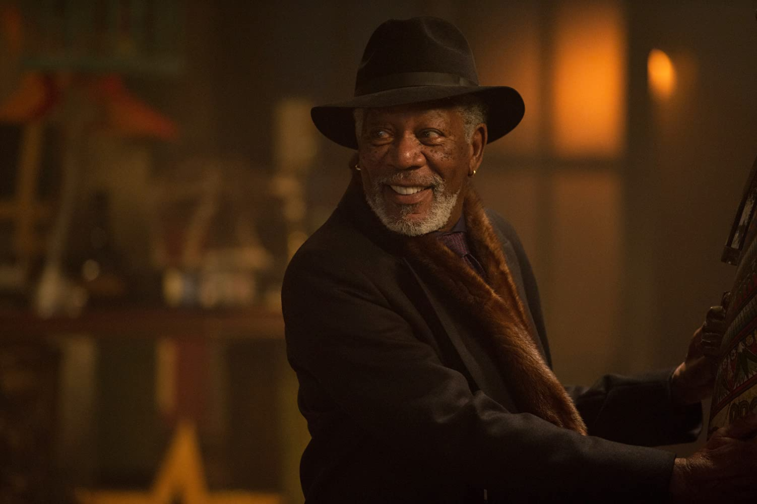 Morgan Freeman in Now You See Me 2 (2016)