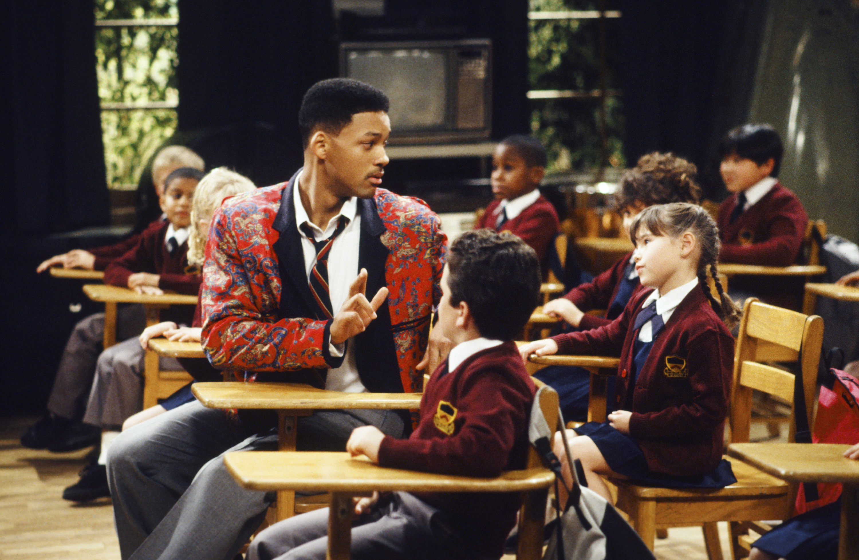 Will Smith and Paige Tamada in The Fresh Prince of Bel-Air (1990)