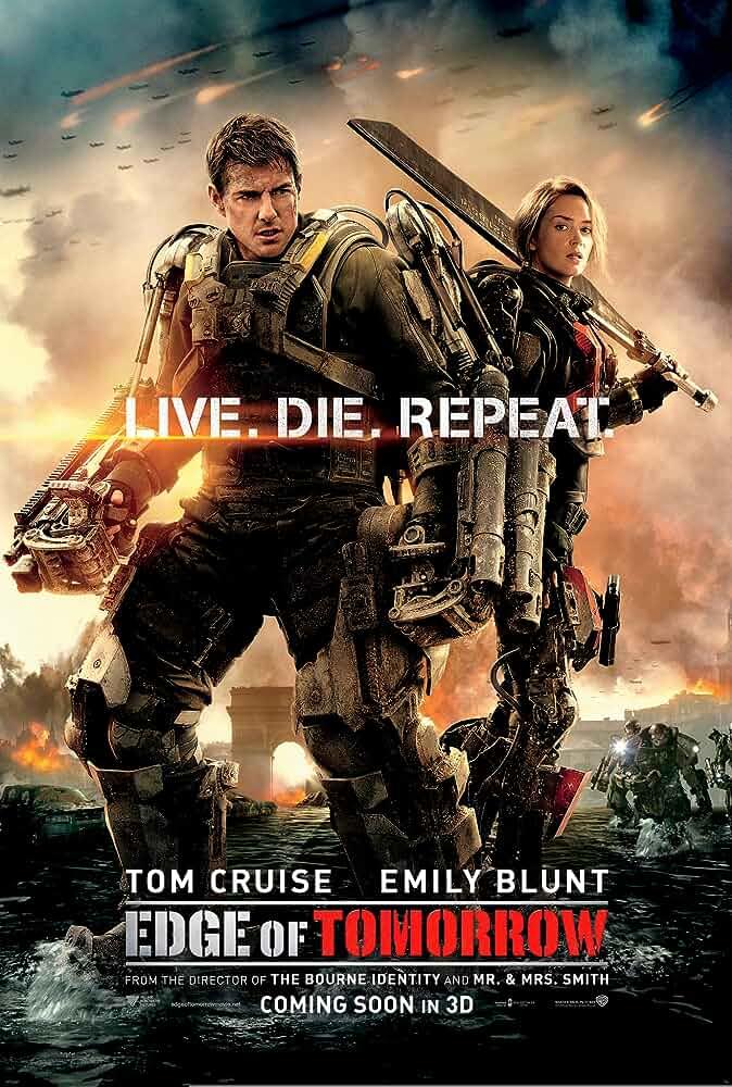Edge of Tomorrow (2014) BluRay Dual Audio [Hindi – English] x264 AAC ESUB