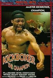 Kickboxer the Champion Poster