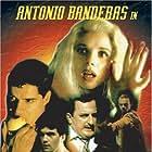 Antonio Banderas, Victoria Abril, and Javier Gurruchaga in Si te dicen que caí (1989)