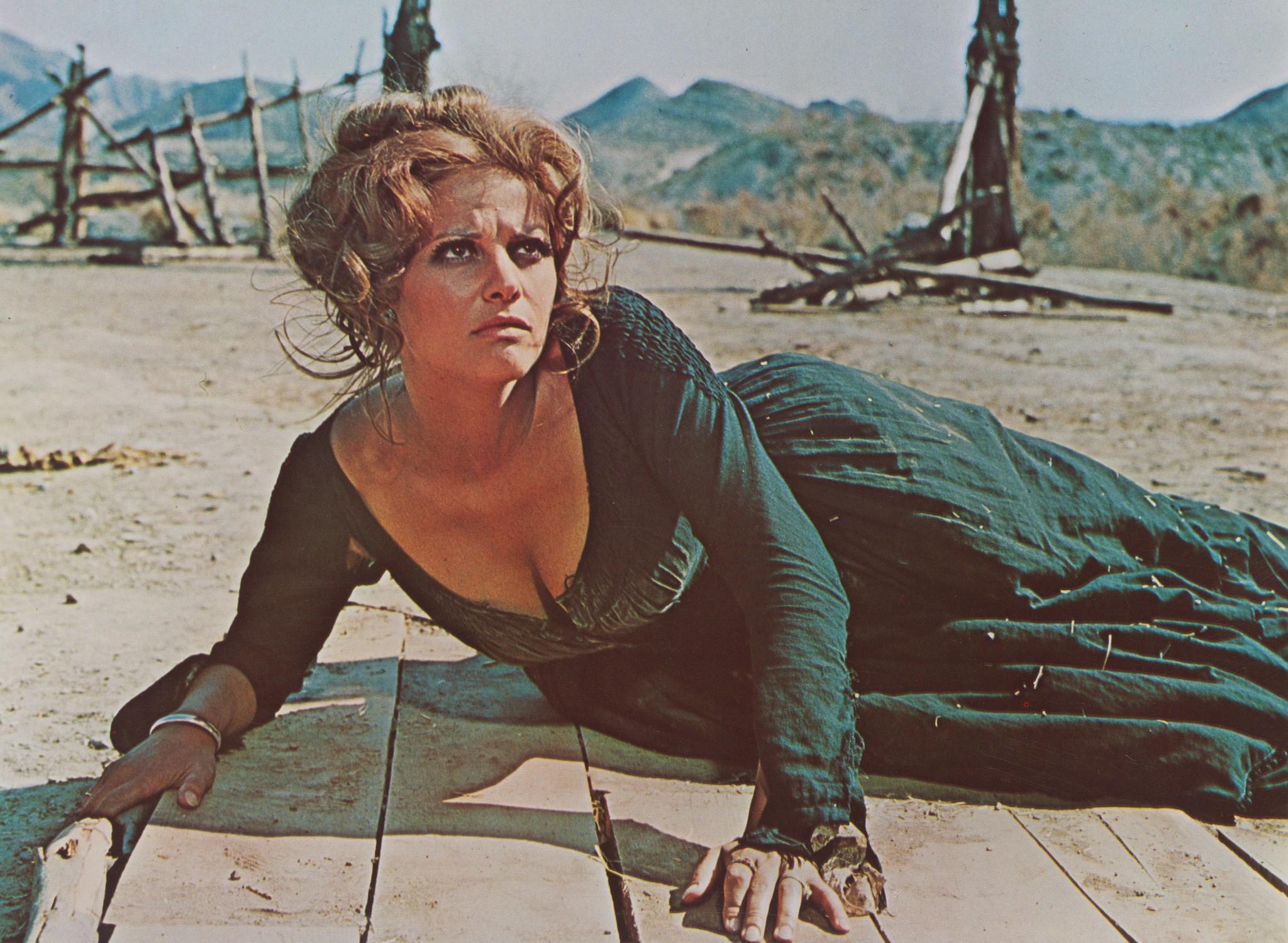 Claudia Cardinale in C'era una volta il West (1968)