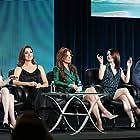 Roma Downey, Diego Boneta, Cote de Pablo, Rachel Brosnahan, and Kathryn Prescott in The Dovekeepers (2015)