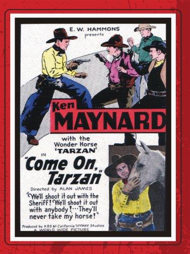 Ken Maynard and Tarzan in Come On, Tarzan (1932)