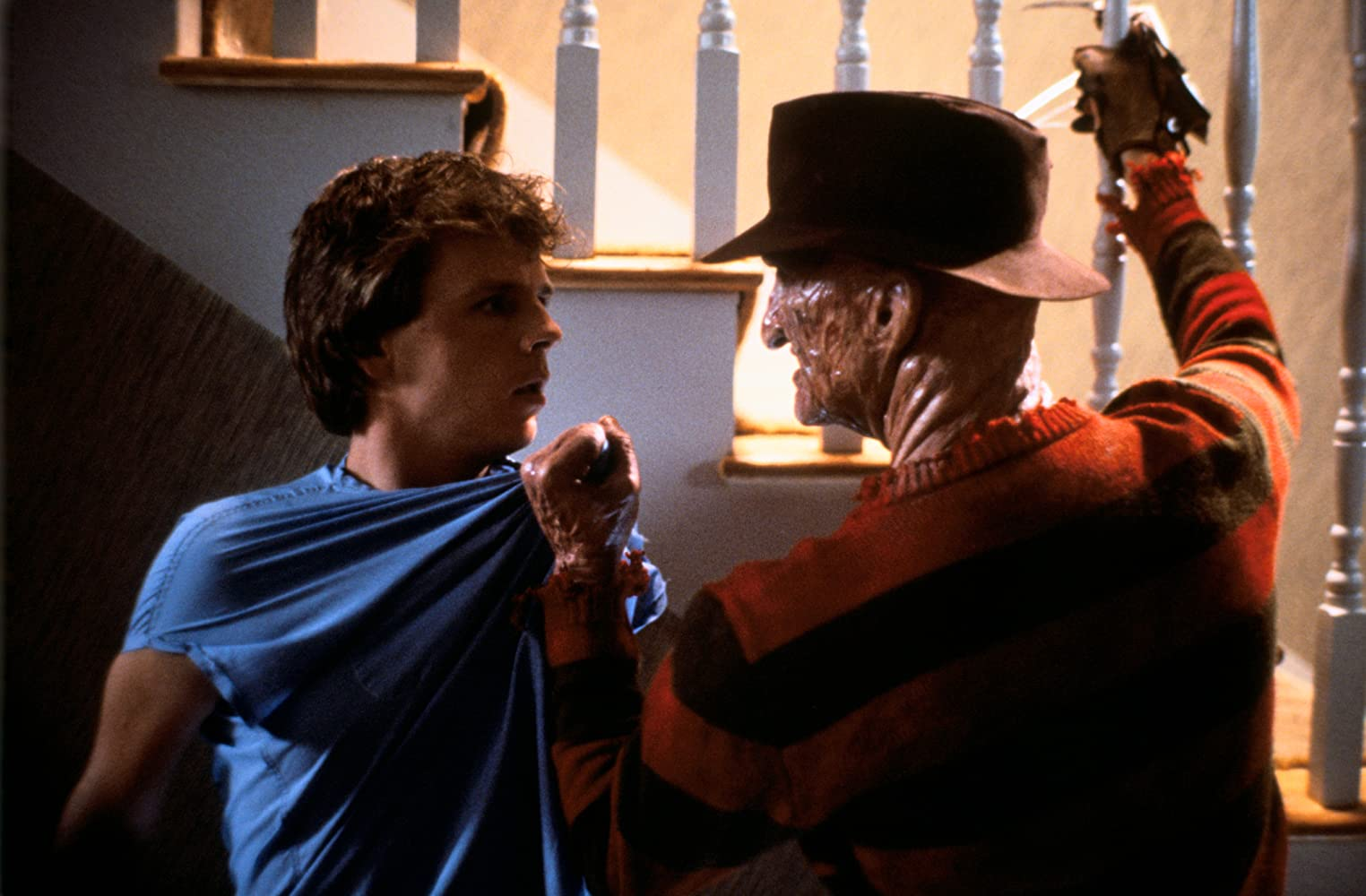 Robert Englund and Mark Patton in A Nightmare on Elm Street Part 2: Freddy's Revenge (1985)