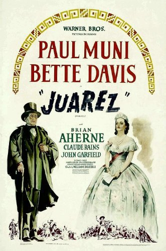 Bette Davis and Paul Muni in Juarez (1939)