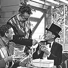Helge Kjærulff-Schmidt, Ebbe Langberg, Ole Monty, and Knud Pheiffer in Familiehaven (1956)